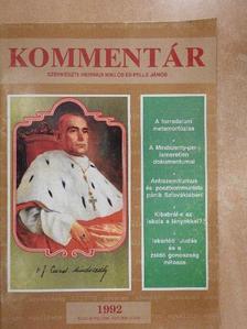 Bodri Ferenc - Kommentár 1992/6. [antikvár]