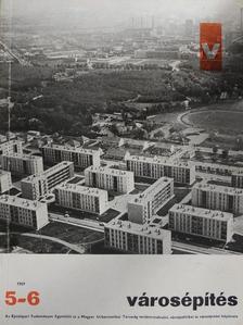 Dr. Körmendy Klára - Városépítés 1969/5-6. [antikvár]