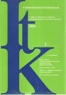 Szörényi László - Irodalomtörténeti Közlemények 2004 CVIII. évfolyam 2. szám [antikvár]