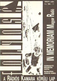 Mihancsik Zsófia - Új Folyosó 1993/V. szám - In memoriam Magyar rádió [antikvár]