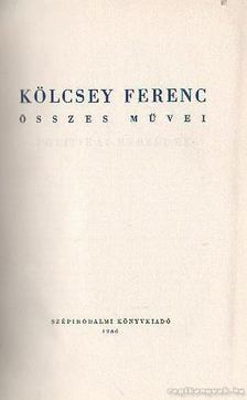 Kölcsey Ferenc - Kölcsey Ferenc összes művei 2. [antikvár]