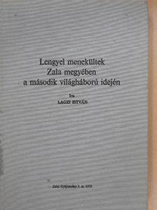 Lagzi István - Lengyel menekültek Zala megyében a második világháború idején (dedikált példány) [antikvár]