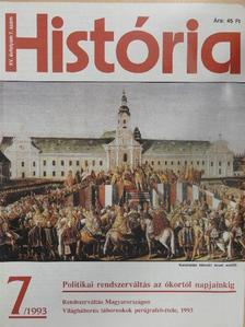 Anderle Ádám - História 1993/7. [antikvár]