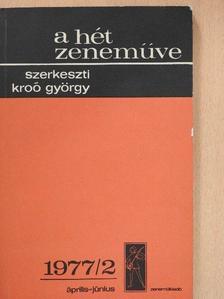 Boronkay Antal - A hét zeneműve 1977/2. [antikvár]