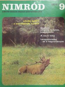 Baróti Géza - Nimród 1976. szeptember [antikvár]