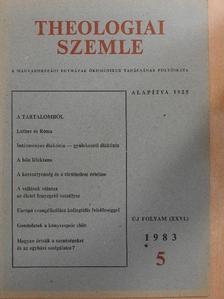 Békefi Lajos - Theologiai Szemle 1983/5. [antikvár]
