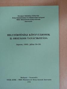 Askerz Éva - Helytörténész könyvtárosok II. országos tanácskozása [antikvár]