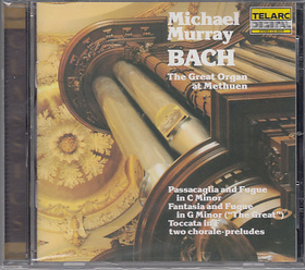 Bach - ORGAN WORKS,CD
