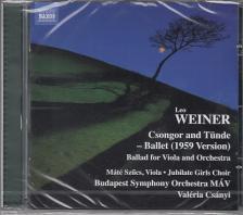 WEINER, LEO - CSONGOR ÉS TÜNDE,CD