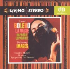 RAVEL; DEBUSSY - BOLERO - LA VALSE - RAPSODIE ESPAGNOLE - IMAGES CD CHARLES MUNCH