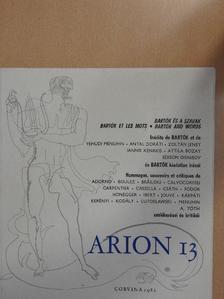 Alejo Carpentier - Arion 13 [antikvár]