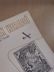 Balogh Judit - OSZK Hiradó 1974. november-december [antikvár]