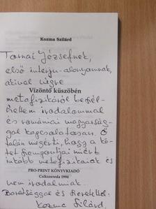 Kozma Szilárd - Vízöntő küszöbén (dedikált példány) [antikvár]