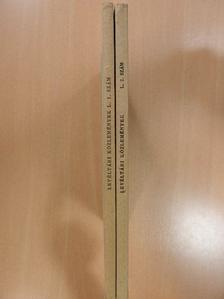 Bélay Vilmos - Levéltári közlemények L/1-2. [antikvár]