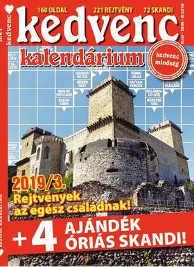 CSOSCH KIADÓ - Kedvenc Kalendárium 2019/3