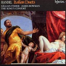 Handel - ITALIAN DUETS CD KING'S CONSORT