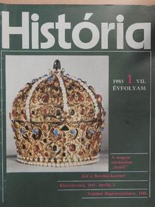 Bácskai Vera - História 1985/1. [antikvár]
