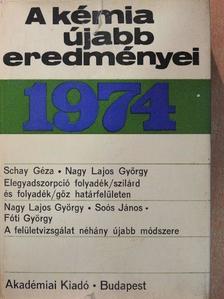Fóti György - A kémia újabb eredményei 18. [antikvár]