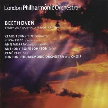 BEETHOVEN - SYMPHONY NO.9 CD TENNSTEDT, POPP, MURRAY, JOHNSON, PAPE