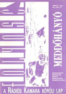 Mihancsik Zsófia - Folyosó 1994/I-II. szám - Meddőhányó [antikvár]