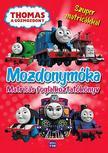 Thomas a Gőzmozdony - Mozdonymóka Foglalkoztatókönyv Szuper matricákkal