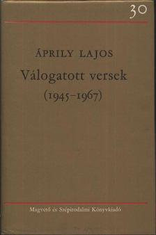 Áprily Lajos - Válogatott versek (1945-1967) [antikvár]
