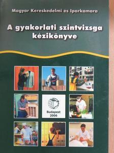 Banczik Györgyné - A gyakorlati szintvizsga kézikönyve [antikvár]