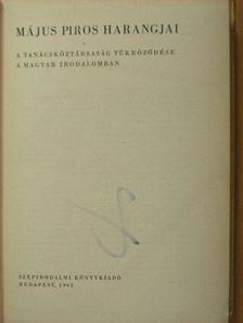 Ács Klára - Május piros harangjai [antikvár]