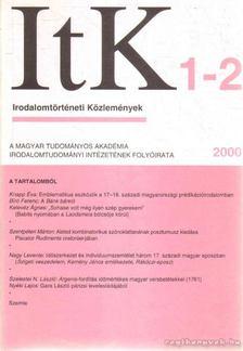 Szörényi László - Irodalomtörténeti Közlemények 2000. CIV. évfolyam 1-2.szám [antikvár]