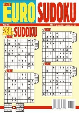 CSOSCH KIADÓ - EURO Sudoku 2019/3