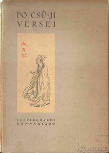 Po CSü-Ji - Po Csü-Ji versei [antikvár]