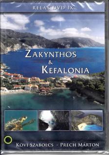 ZAKYNTHOS & KEFALONIA DVD KÖVI SZABOLCS