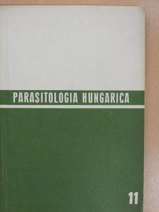 Dr. Mahunka Sándor - Parasitologia Hungarica 1978/11. [antikvár]
