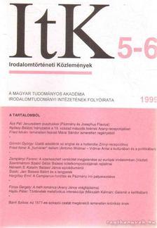 Szörényi László - Irodalomtörténeti Közlemények 1999. CIII. évfolyam 5-6. szám [antikvár]