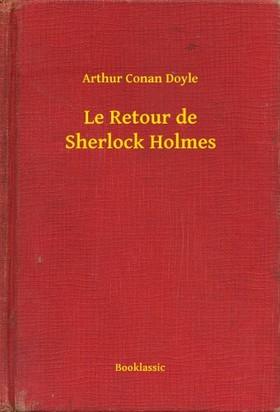 Arthur Conan Doyle - Le Retour de Sherlock Holmes [eKönyv: epub, mobi]