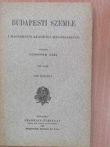 Bajza József - Budapesti Szemle 1929. március [antikvár]