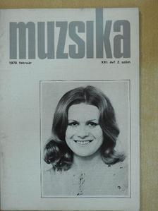 Berlász Melinda - Muzsika 1978. február [antikvár]