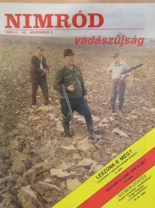 Benéné Ignácz Magdolna - Nimród 1989. november [antikvár]