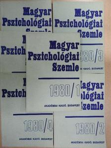 Aczél György - Magyar Pszichológiai Szemle 1980/1-6. [antikvár]