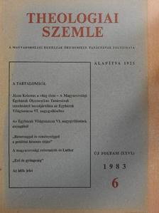 Csohány János - Theologiai Szemle 1983/6. [antikvár]