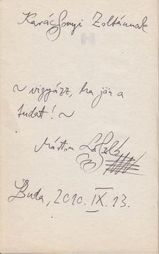 Márton László - Tudatalatti megálló (dedikált) [antikvár]