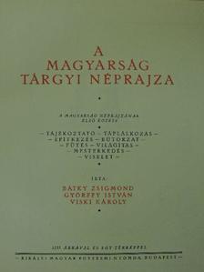 Bátky Zsigmond - A magyarság néprajza I-IV. [antikvár]