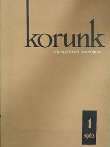 Augustin Deac - Korunk 1963. január [antikvár]