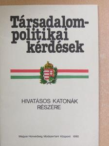 Dr. Ravasz István - Társadalompolitikai kérdések [antikvár]