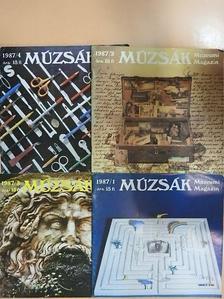 Cenner Mihály - Múzsák 1987/1-4. [antikvár]