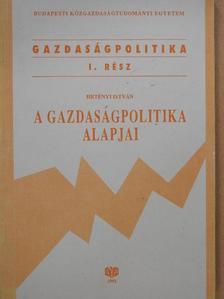 Hetényi István - A gazdaságpolitika alapjai [antikvár]