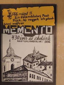 Benedekfi Anna - Memento [antikvár]