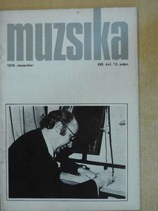 Boronkay Antal - Muzsika 1976. december [antikvár]