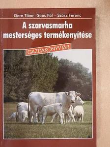 Gere Tibor - A szarvasmarha mesterséges termékenyítése [antikvár]