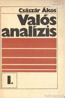 Császár Ákos - Valós analízis I. [antikvár]